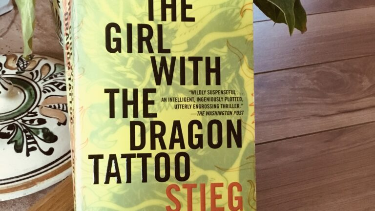 image of Girl with the dragon tattoo